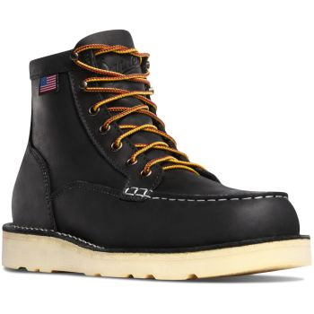 "Bull Run Moc Toe 6"" Black-Danner"
