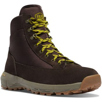 "Explorer 650 6"" Dark Brown/Lime Green"