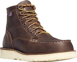 "Bull Run Moc Toe 6"" Brown-"