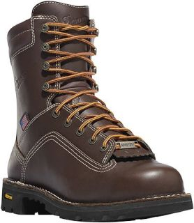 "Quarry USA 8"" Brown-Danner"