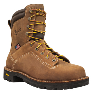 "Quarry USA 8"" Distressed Brown-"