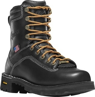 "Womens Quarry USA 7"" Black AT-"