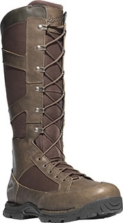 "Pronghorn Snake Boot Side-Zip 17"" Brown-Danner"