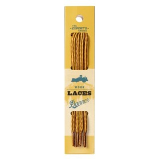 "Laces 84"" Gold/Tan-"