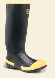 """Premium Knee Boot 16"""" Black SM/ST"""