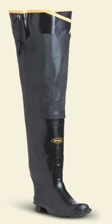 "Premium Hip Boot 32"" Black-"