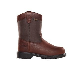 "Youth Wellington 8"" Brown-"