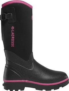 "Womens Alpha Range 12"" Black/Pink 5.0mm-LaCrosse"