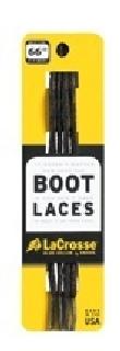 """Laces 66"""" Black Brown Tick-"""