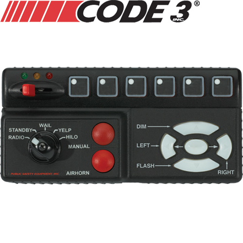 Code 3 RLS Remote Lighted Siren