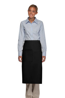 One Pocket Bistro Apron w/ Pencil Divide-