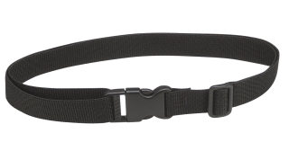 Black Webbing Belt with Fast Click Feature