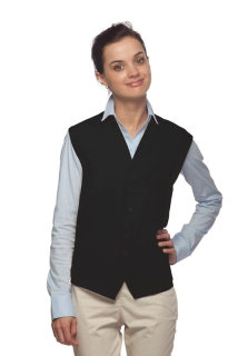 One Pocket Unisex Vest w/ Pencil Divide-DayStar Apparel
