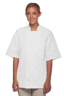 Short Sleeve Chef Coat-DayStar Apparel