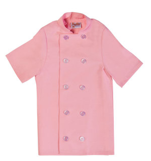 Child Short Sleeve Chef Coat-