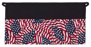American Flag Three Pocket Waist Apron-DayStar Apparel