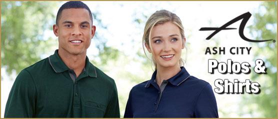Ash City Polos & Shirts