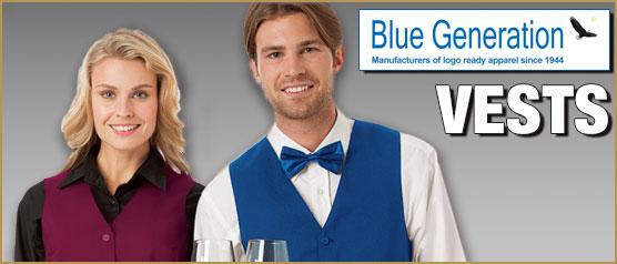 Blue Generation Hospitality Vests