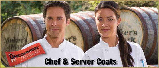Uncommon Threads Chef & Server Coats