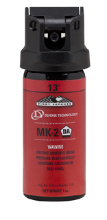 First Defense® MK-2, 1.3% Red Stream-Defense Technology