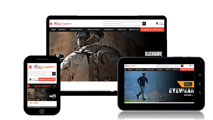 Response Design Uniform Retailer Websites
