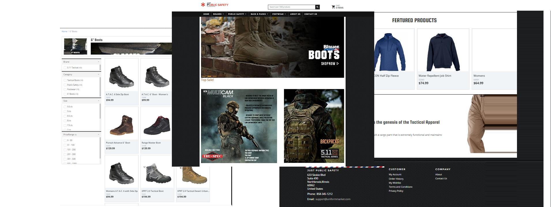 benefits if uniformmarket ecommerce website