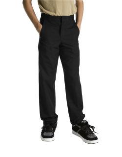 Boys Flat Front Pant