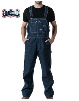 Rigid Den Bib Overall-Big Smith