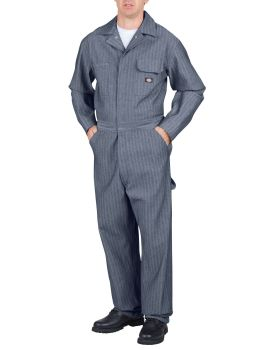 Stripe Ls Coverall-Dickies