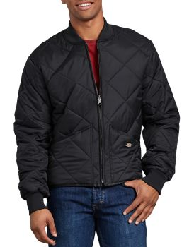 Nylon Quilted Jacket-