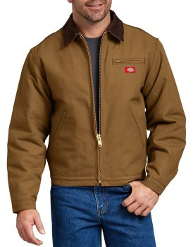 Dickies Industrial Mens Blktline Duck Jacket-Dickies