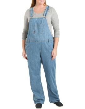 Dickies Womens Industrial Bib Overall Plus-Dickies