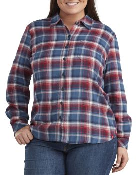 Flnl Plaid Shirt Plus-