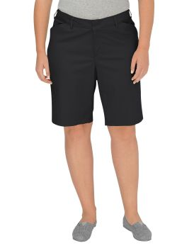 Dickies Industrial Bottoms Womens Bk Rlx Strtch Short-Dickies