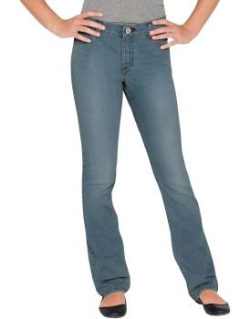 Dickies Industrial Girls Bootcut Jean 7-16-Dickies