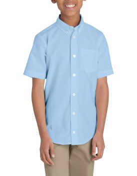 Blue Oxford Ss Shirt-