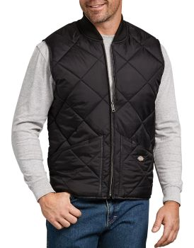 Diamond Qlt Nylon Vest-Dickies