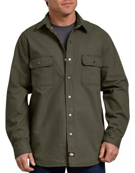 WL610 Ls Flannel Shirt-Dickies