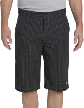 Reg Fit Plaid Short-