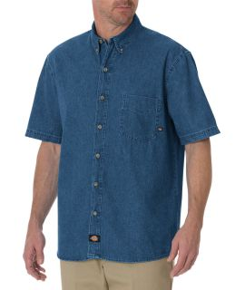 Denim S/S Shirt-Dickies