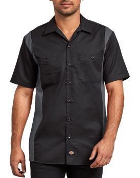 Dickies Industrial Mens Ss Twotone Wk Shirt-Dickies