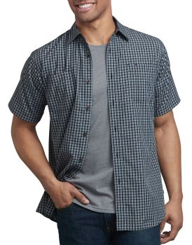 Dickies Industrial Shirts Mens Ss Plaid Shirt-Dickies