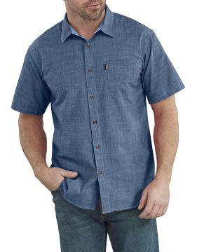 WS535 Ss Chambray Shirt-