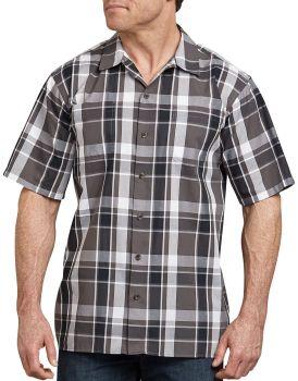 WS550 Ss Plaid Shirt-