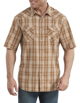 Dickies Industrial Mens Ss Western Shirt-Dickies