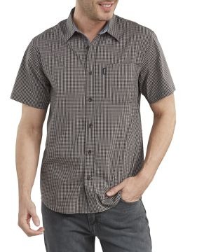 Ss Plaid Flex Shirt-