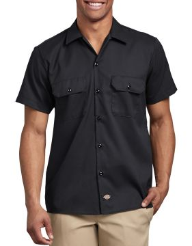 Dickies Industrial Mens Ss Flex Twl Wk Shirt-Dickies