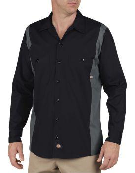 Bk/Ch 2tone Dow Shirt-