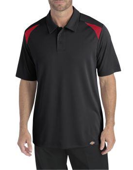 Dow Industrial Mens Ss Auto Polo-Dow