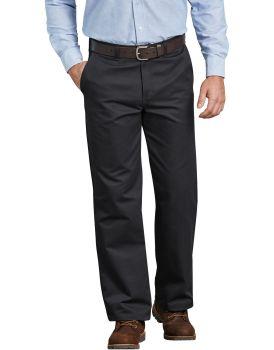Flat Frt Cotton Pant-